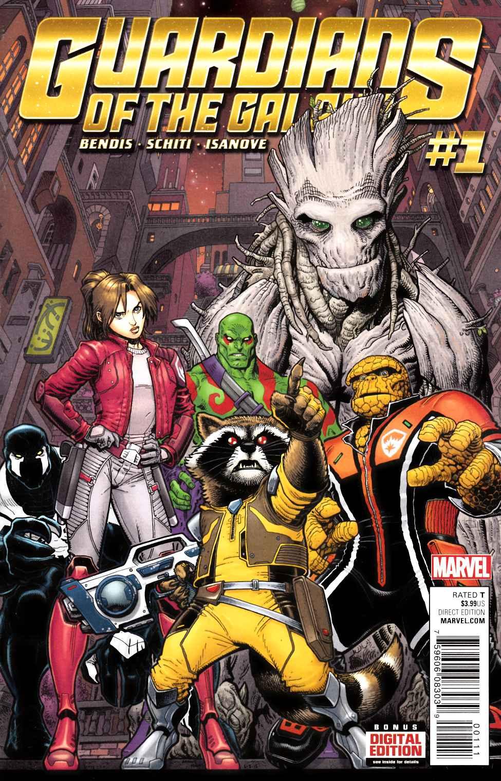 Guardians of the galaxy 1 marvel comic dreamlandcomics com