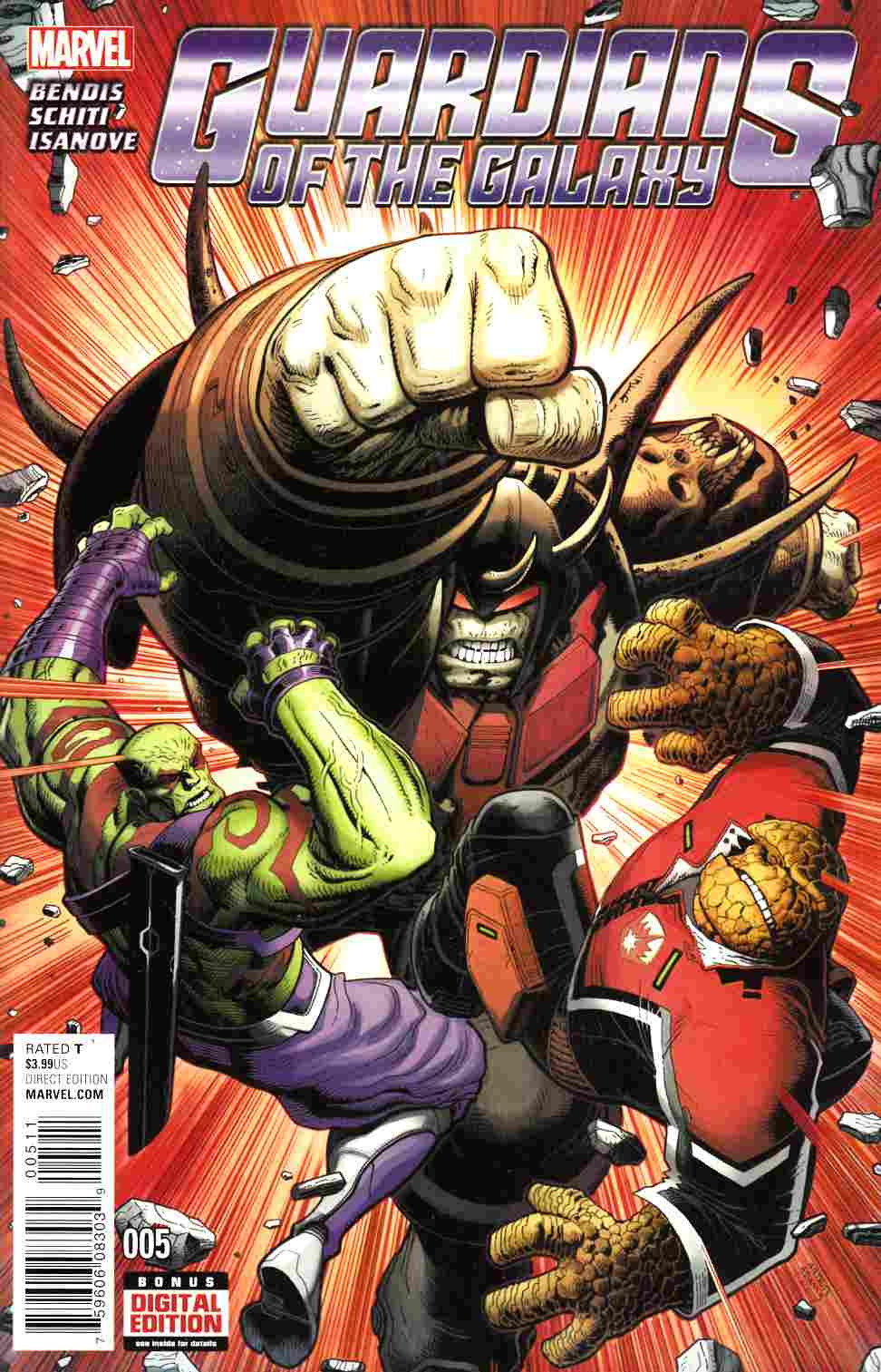 Guardians of the Galaxy #5 Near Mint (9.4) [Marvel Comic] LARGE