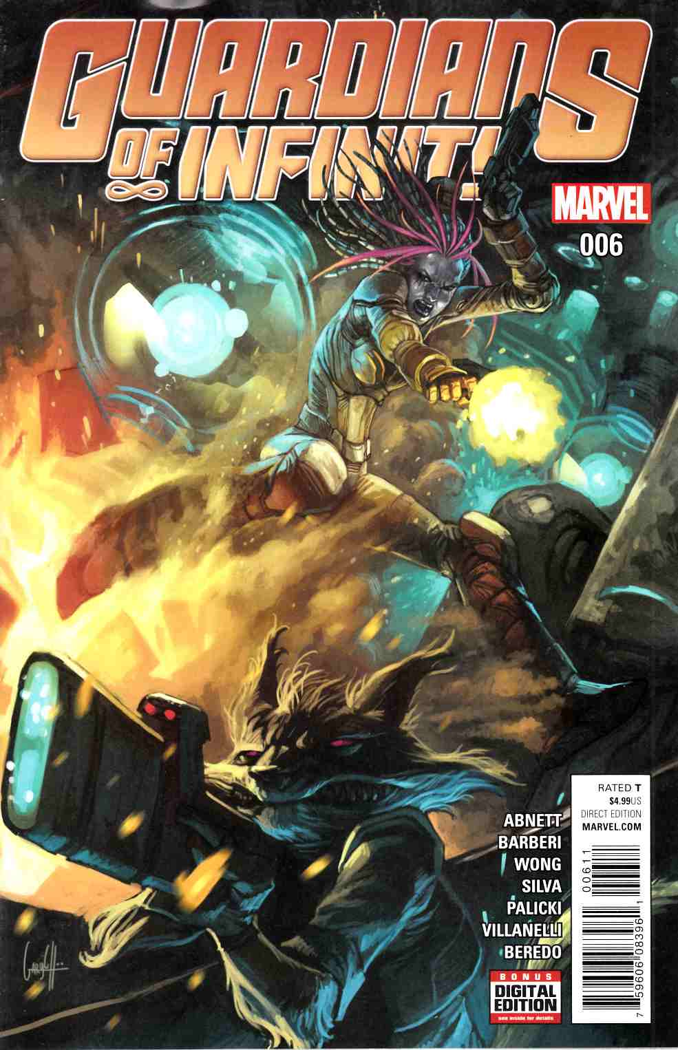Guardians of Infinity #6 [Marvel Comic] LARGE