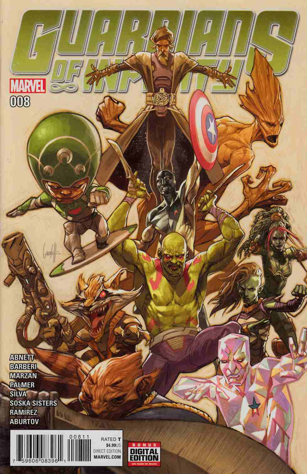 Guardians of Infinity #8 [Marvel Comic] LARGE
