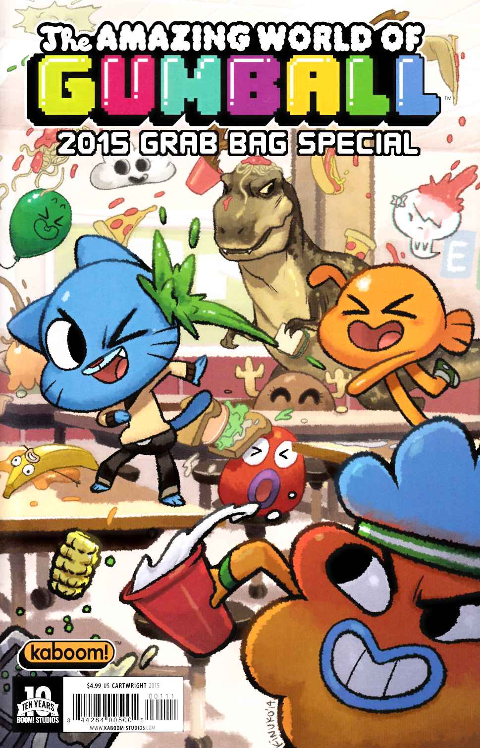 Amazing World of Gumball 2015 Grab Bag #1 [Boom Comic] THUMBNAIL