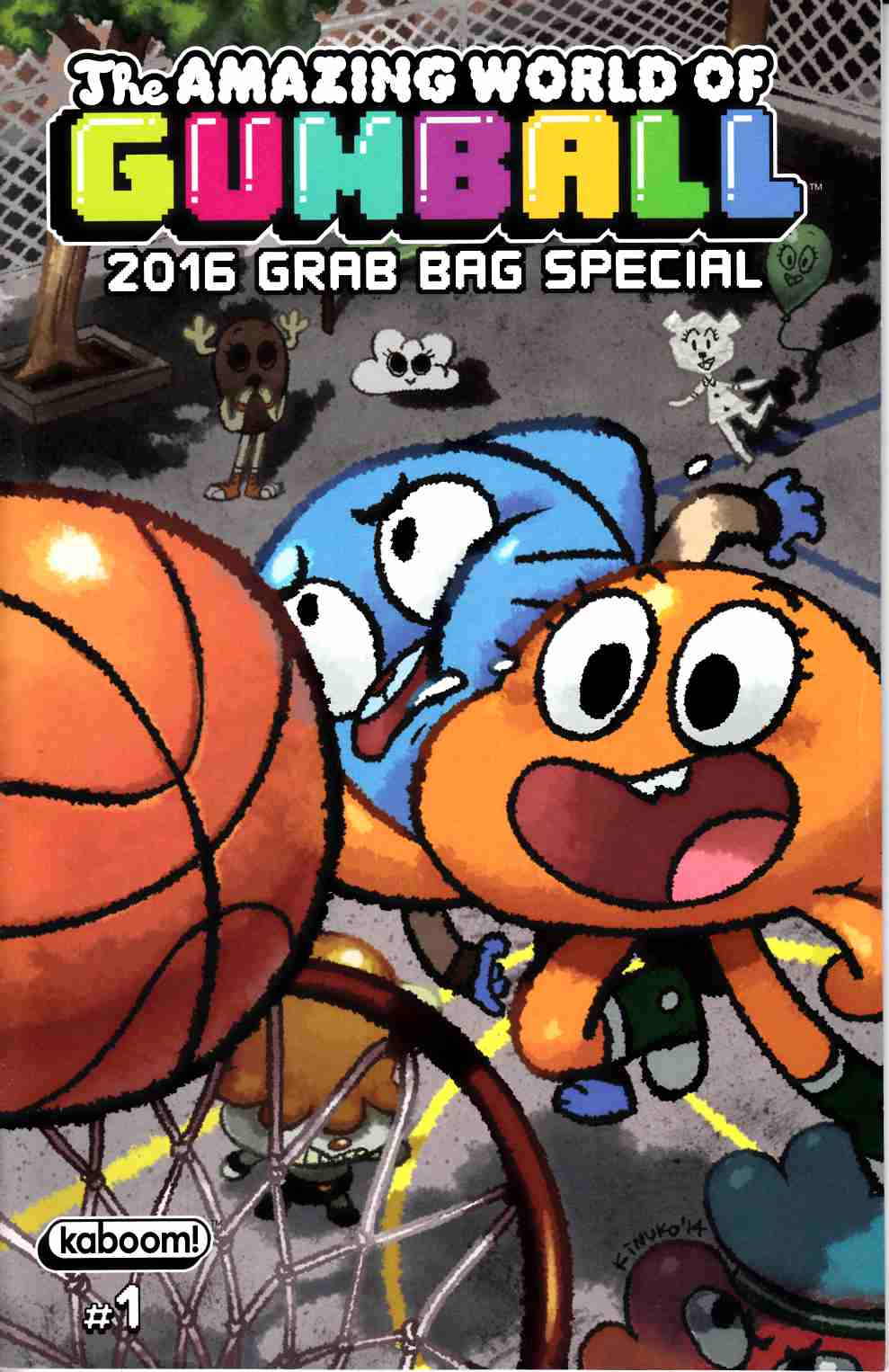 Amazing World of Gumball 2016 Grab Bag Special #1 [Boom Comic] THUMBNAIL