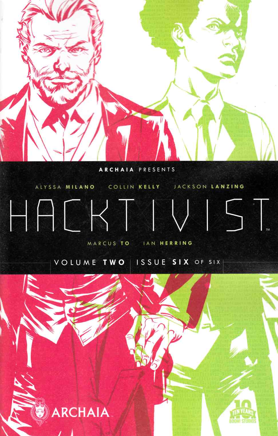 Hacktivist Vol 2 #6 [Boom Comic] THUMBNAIL