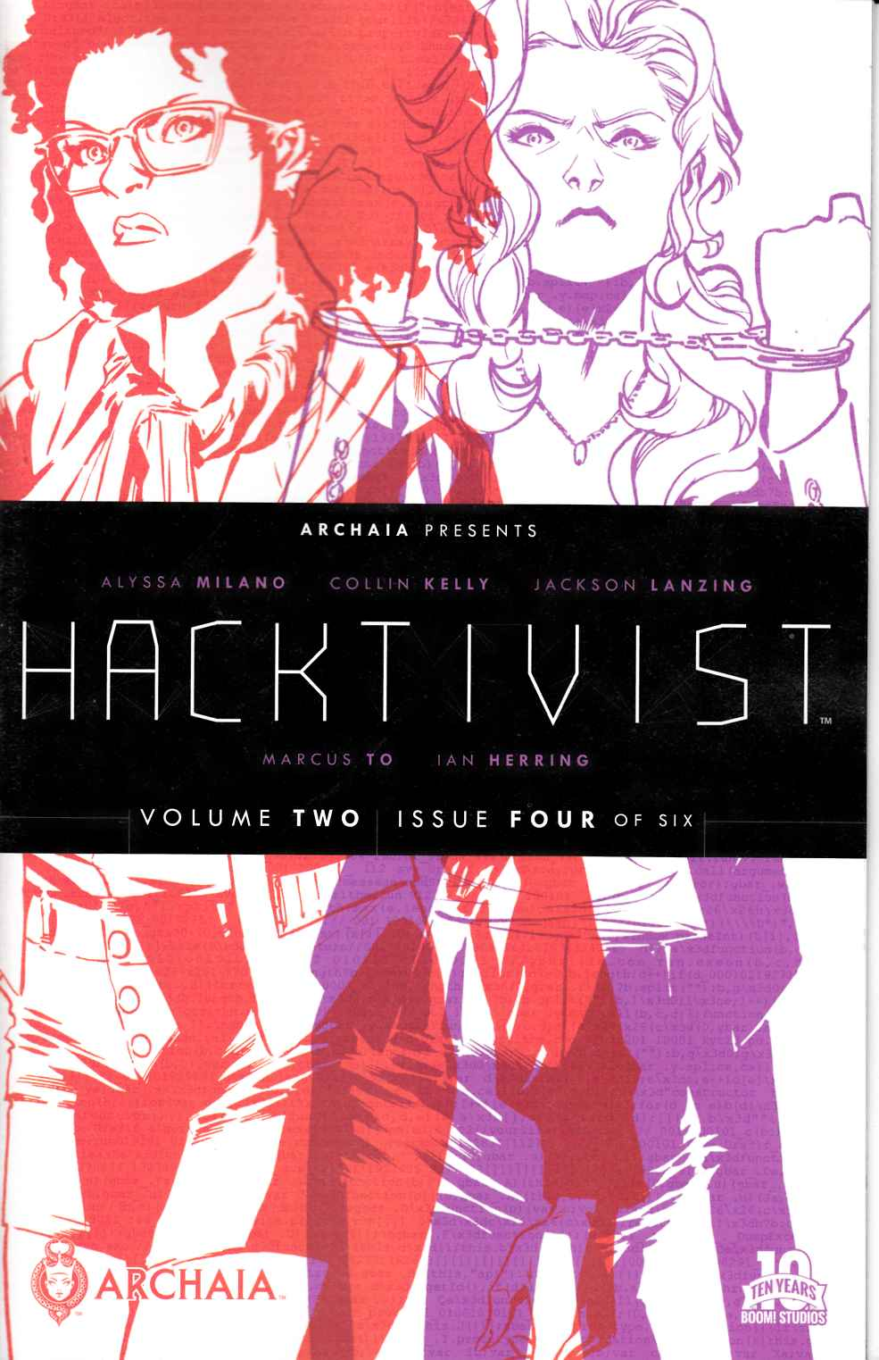 Hacktivist Vol 2 #4 [Boom Comic] LARGE