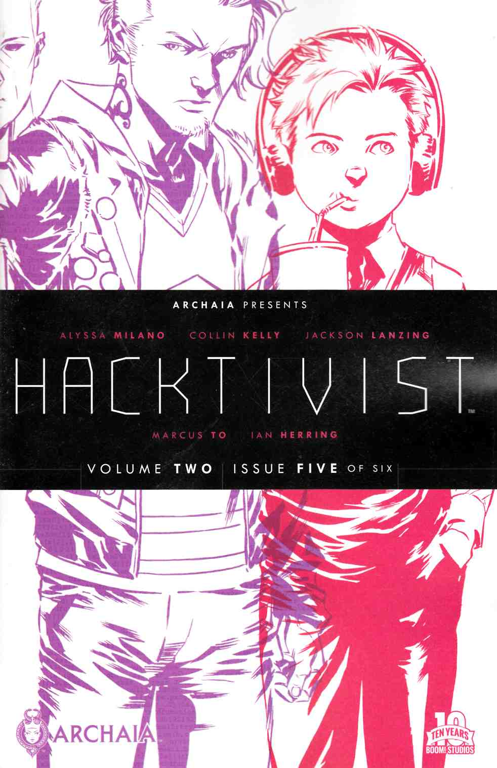 Hacktivist Vol 2 #5 [Boom Comic] THUMBNAIL
