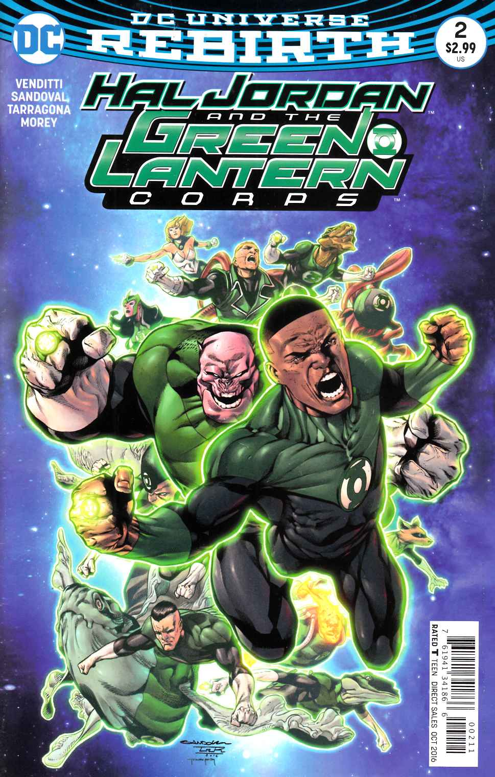 Hal Jordan and the Green Lantern Corps #2 [DC Comic] LARGE