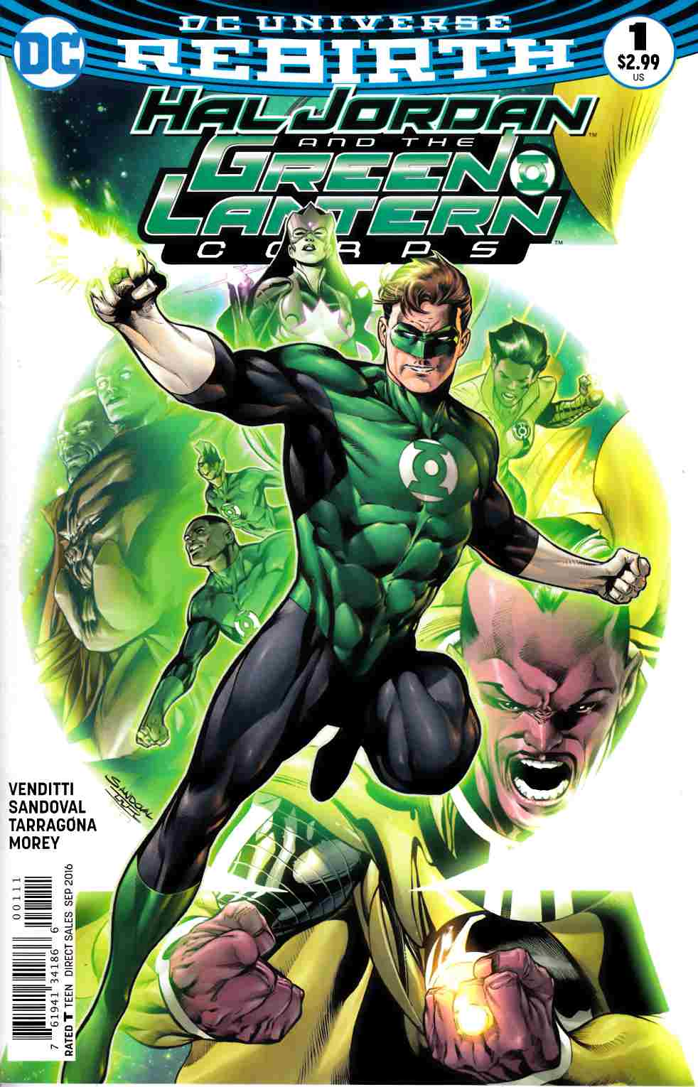 Hal Jordan and the Green Lantern Corps #1 [DC Comic] THUMBNAIL