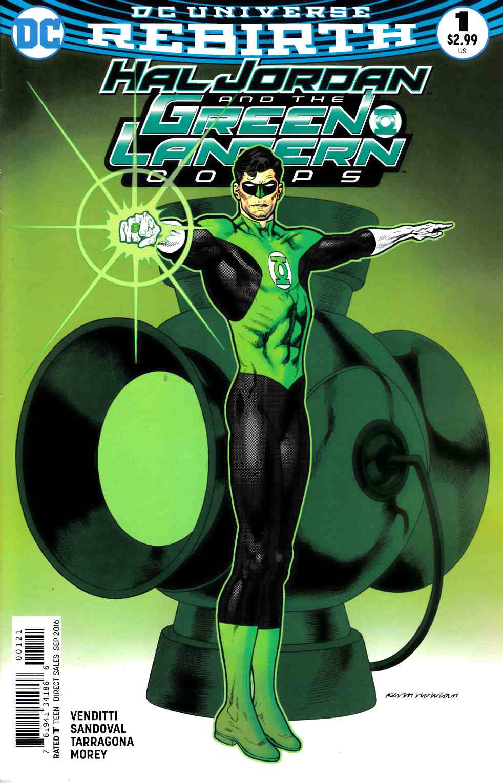 Hal Jordan and the Green Lantern Corps #1 Nowlan Variant Cover [DC Comic] THUMBNAIL