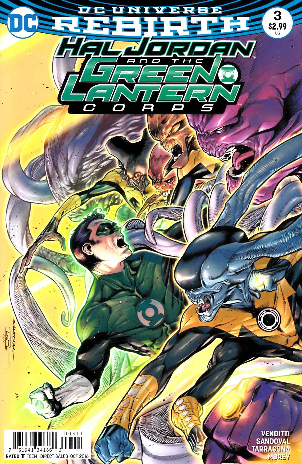 Hal Jordan and the Green Lantern Corps #3 [DC Comic] LARGE