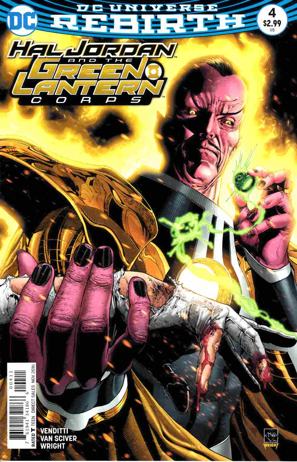 Hal Jordan and the Green Lantern Corps #4 [DC Comic] LARGE