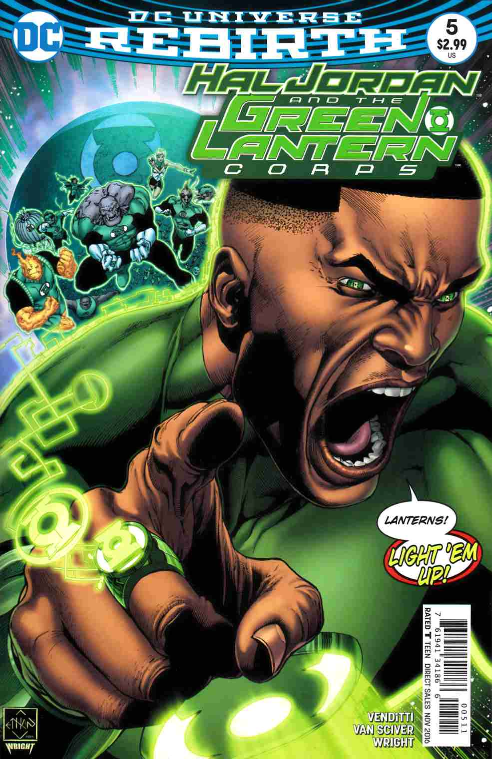 Hal Jordan and the Green Lantern Corps #5 [DC Comic] LARGE