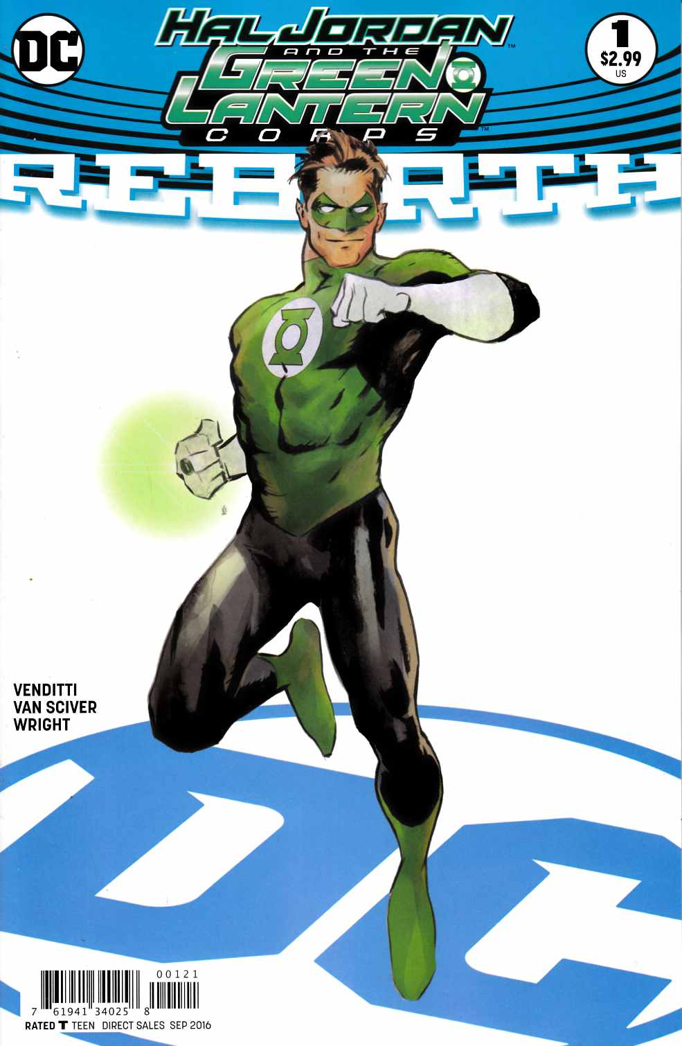 Hal Jordan and the Green Lantern Corps Rebirth #1 Nord Variant Cover [DC Comic] THUMBNAIL