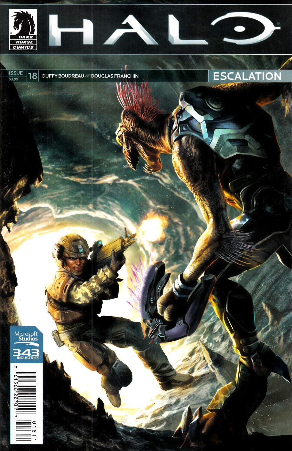 Halo Escalation #18 [Dark Horse Comic] THUMBNAIL