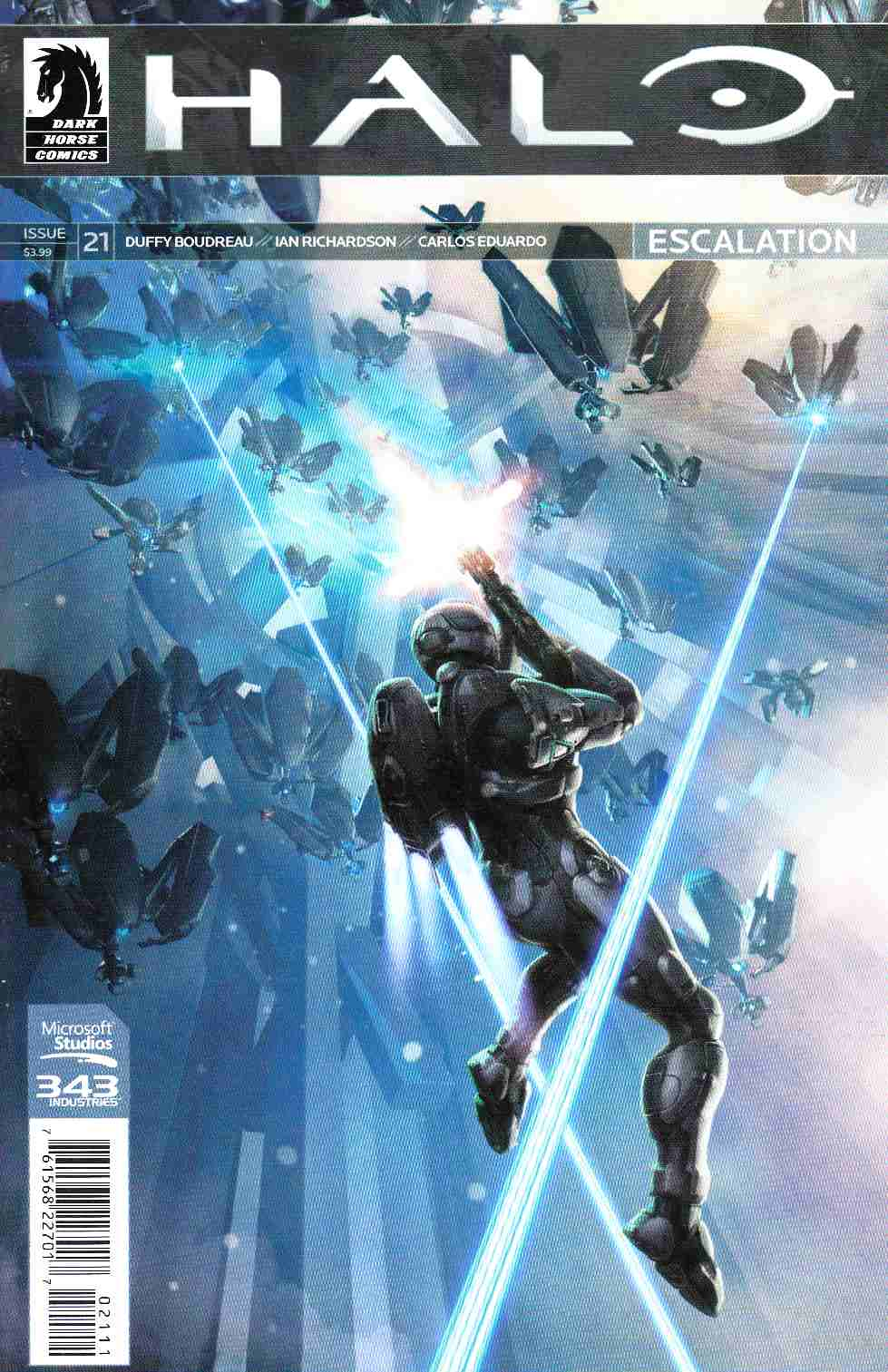 Halo Escalation #21 [Dark Horse Comic] THUMBNAIL