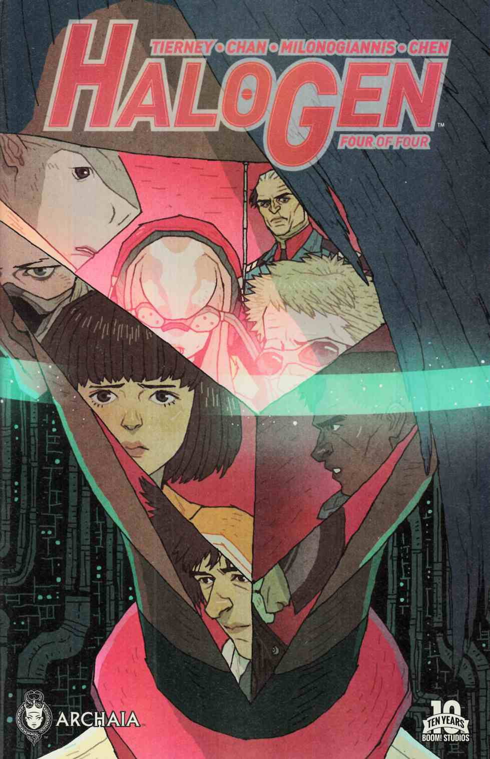 Halogen #4 [Boom Comic]