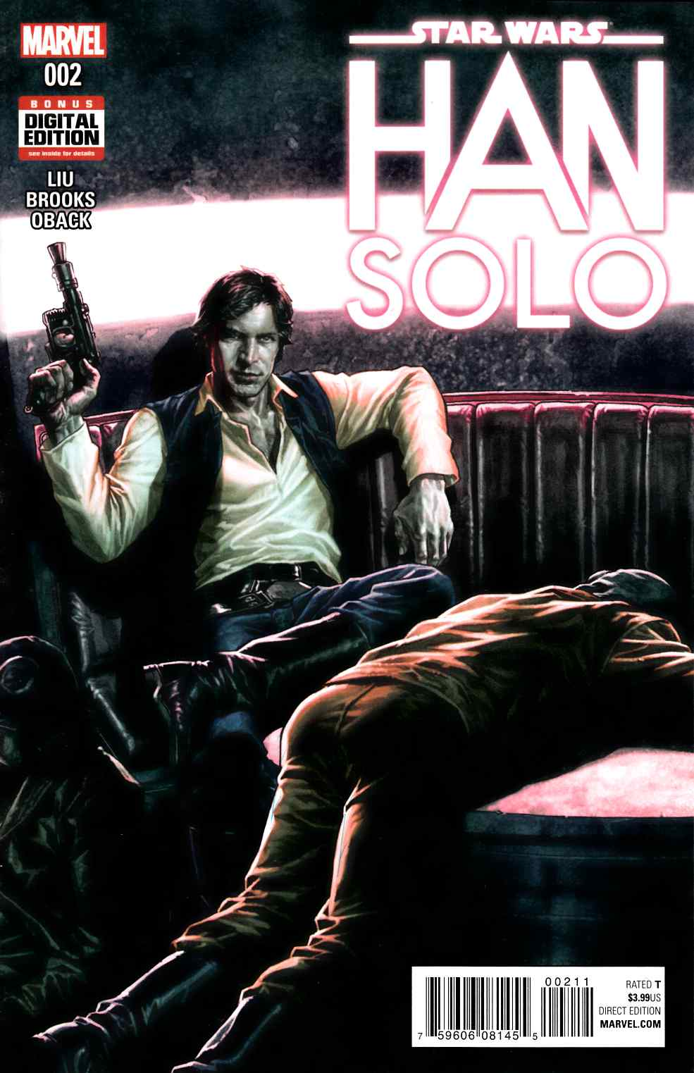 Star Wars Han Solo #2 [Marvel Comic] LARGE