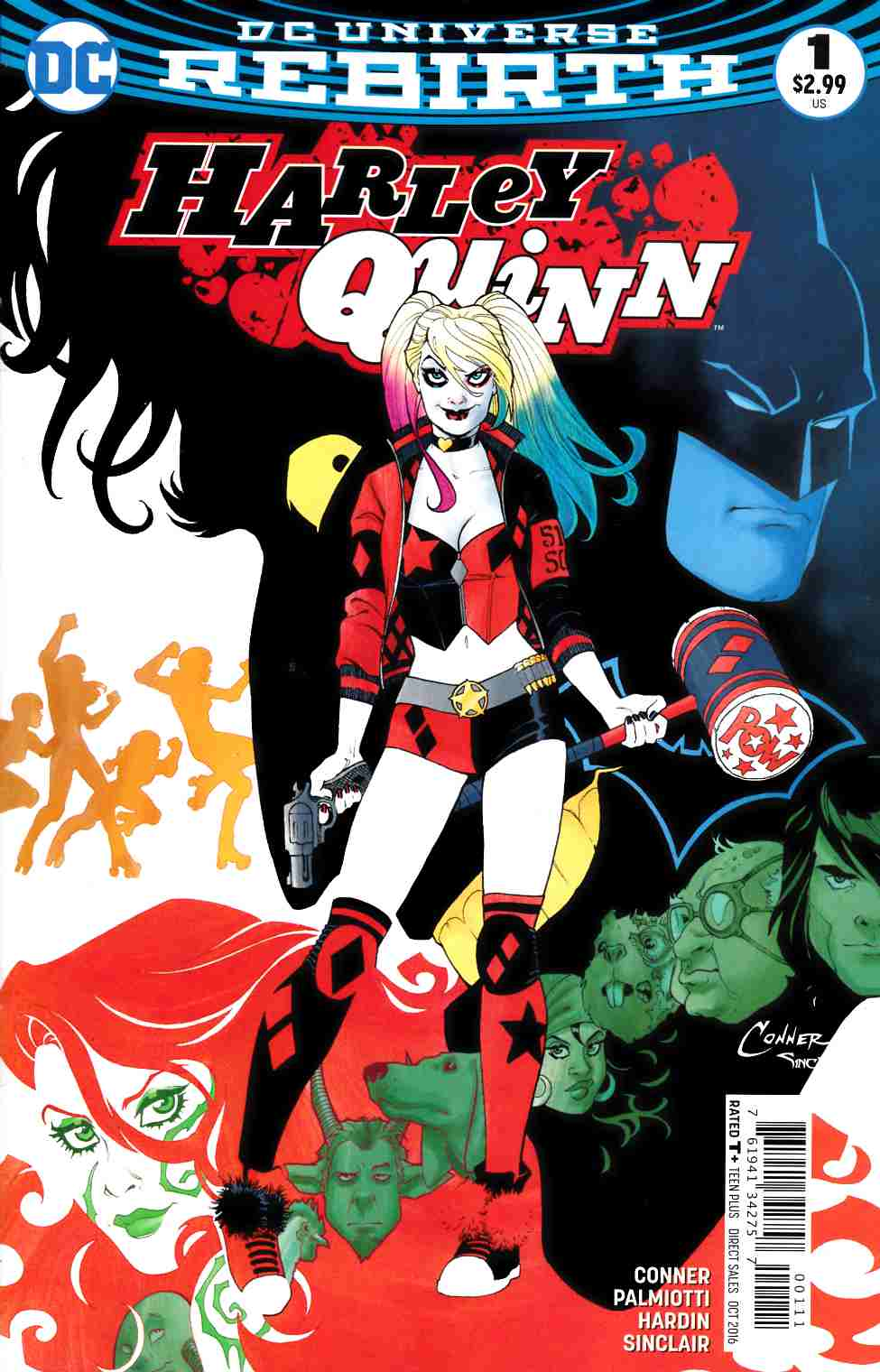 Harley Quinn #1 [DC Comic] LARGE