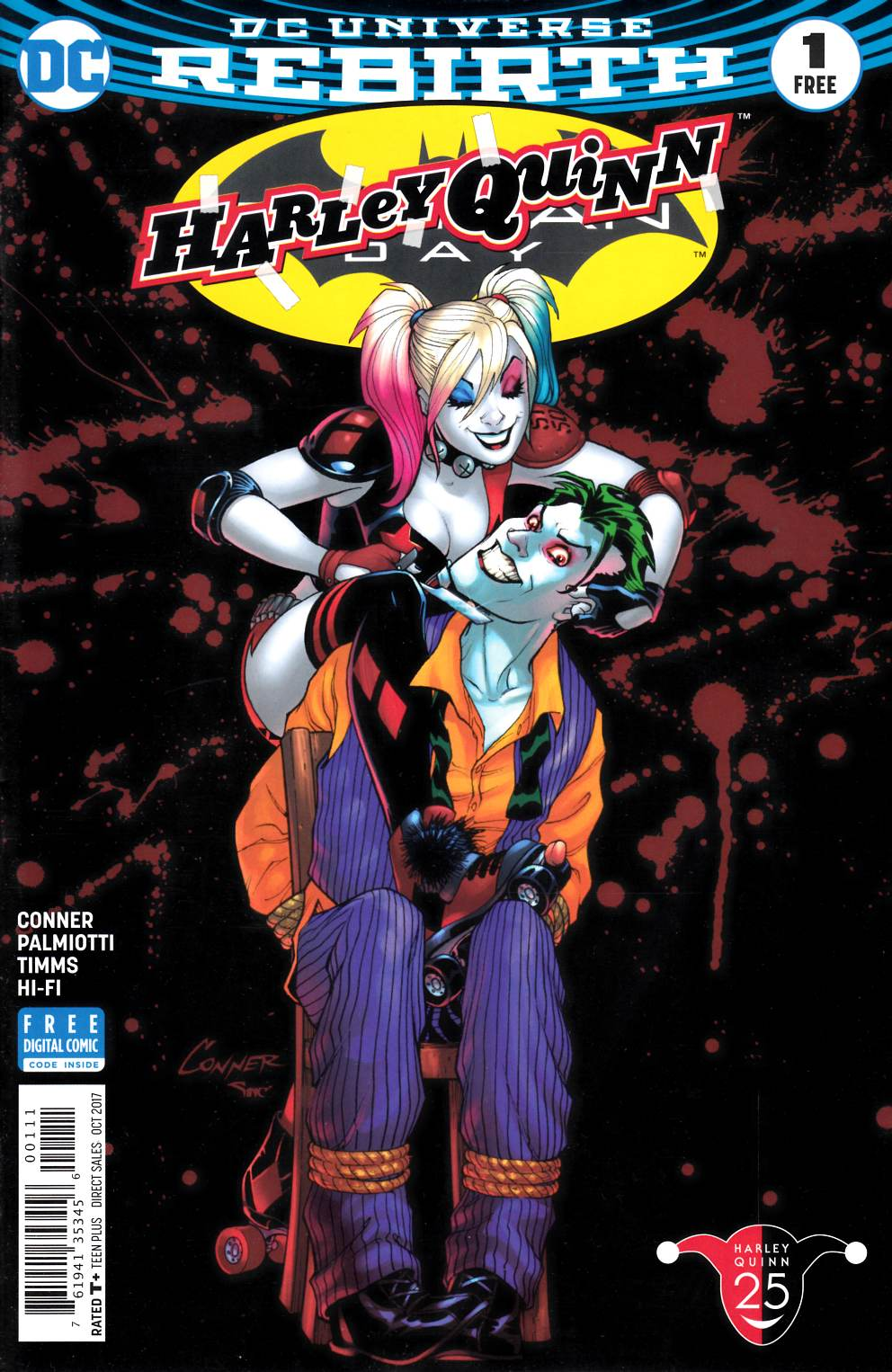 Harley Quinn Batman Day Special Edition #1 Near Mint (9.4) [DC Comic] LARGE