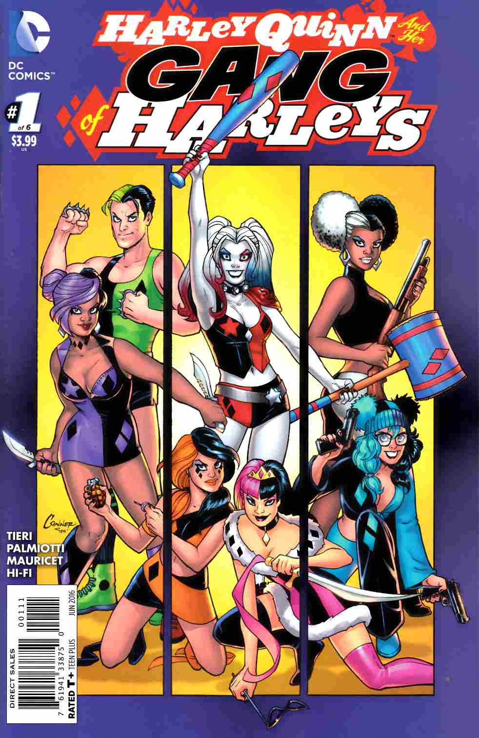 Harley Quinn and Her Gang of Harleys #1 Fine (6.0) [DC Comic] LARGE