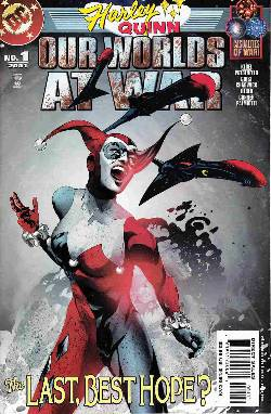 Harley Quinn Our Worlds At War (One Shot) Near Mint Minus (9.2) [DC Comic] LARGE