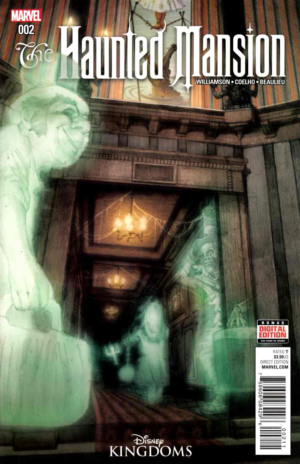 Haunted Mansion #2 [Marvel Comic] LARGE
