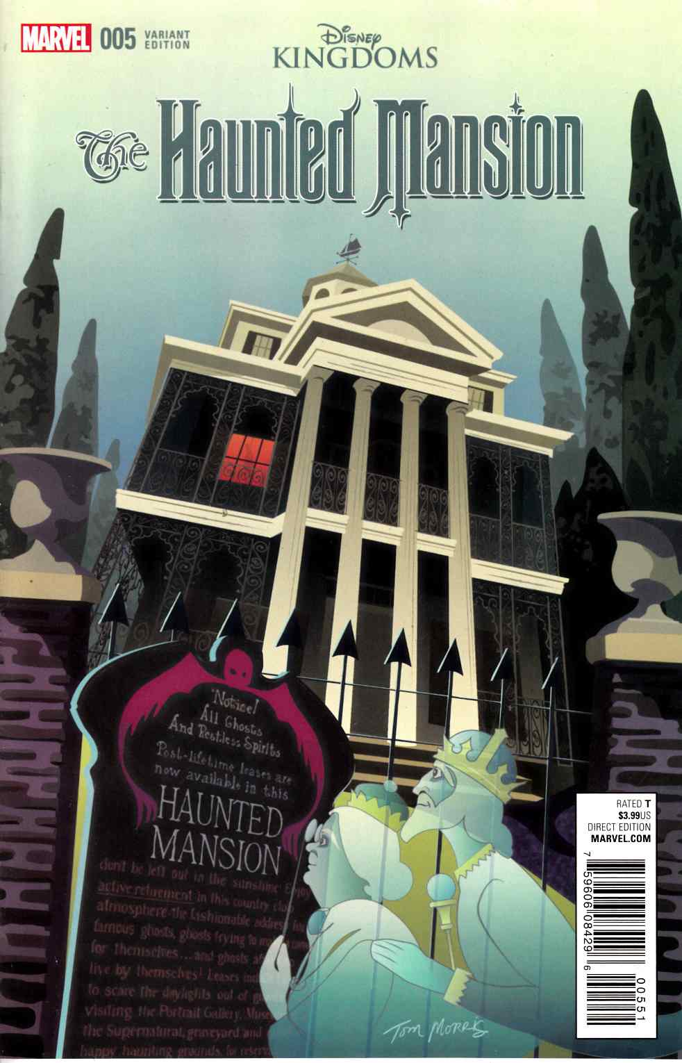 Haunted Mansion #5 Morris Variant Cover [Marvel Comic] LARGE