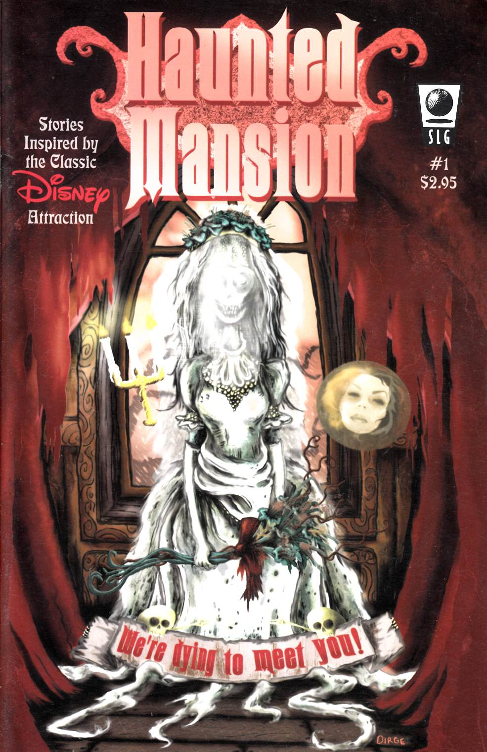 Haunted Mansion #1 Very Fine (8.0) [Slave Labor Comic] THUMBNAIL