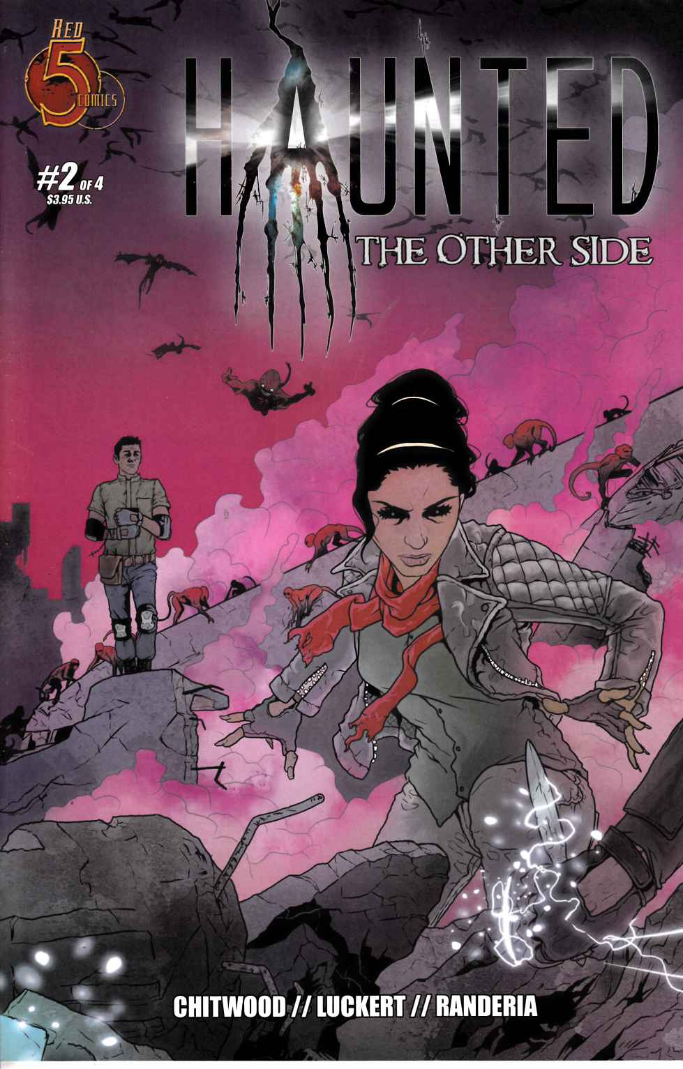 Haunted Other Side #2 [Red 5 Comic] LARGE