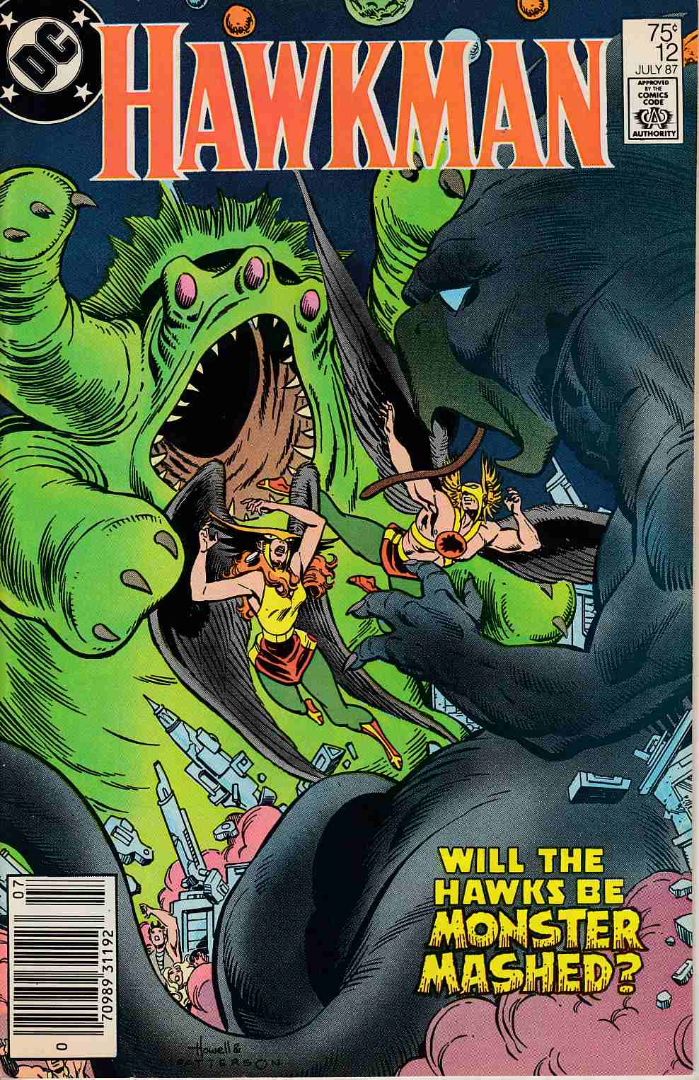 Hawkman #12 Newsstand Edition Very Fine (8.0) [DC Comic] LARGE