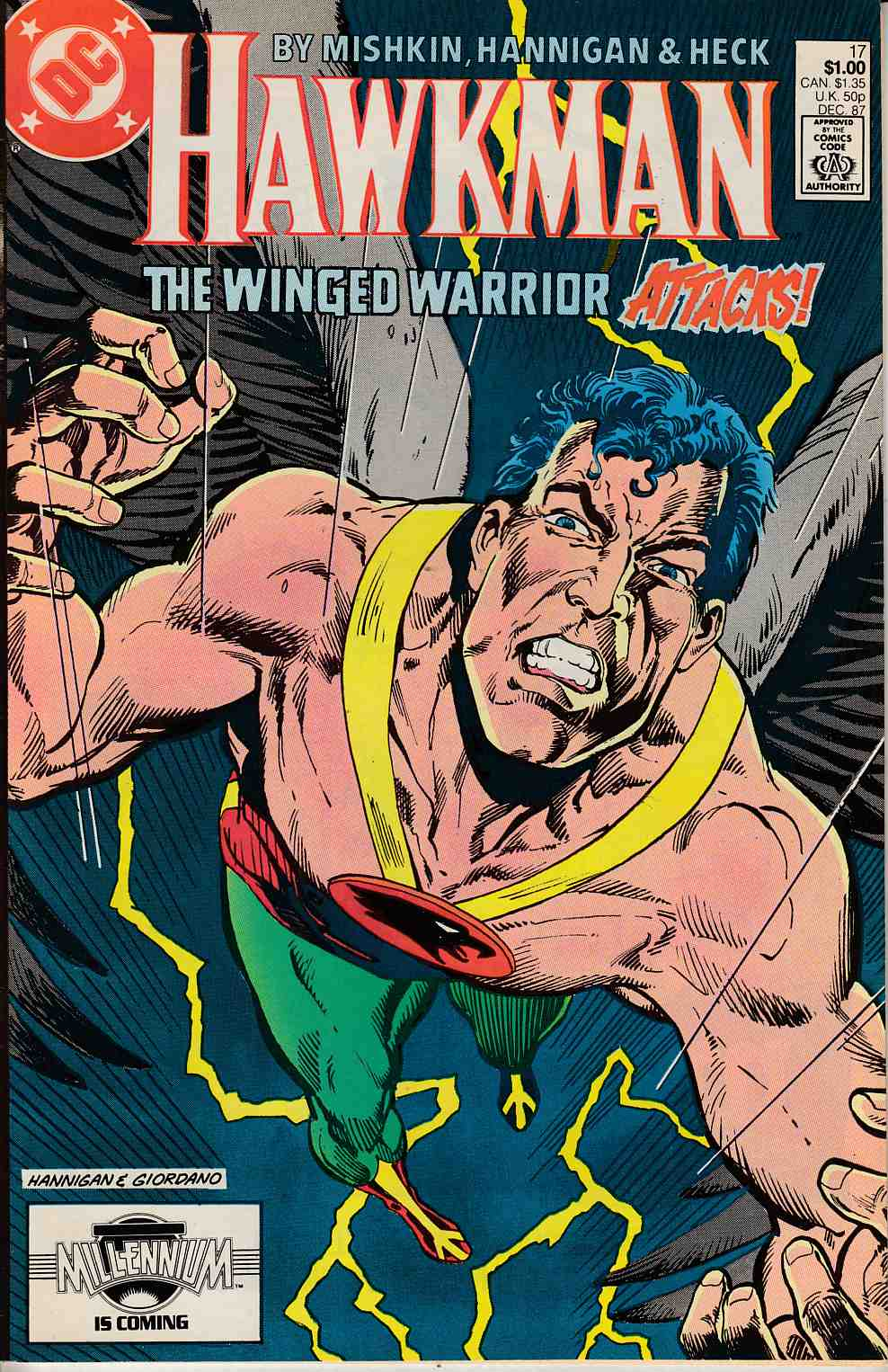 Hawkman #17 Fine (6.0) [DC Comic] LARGE