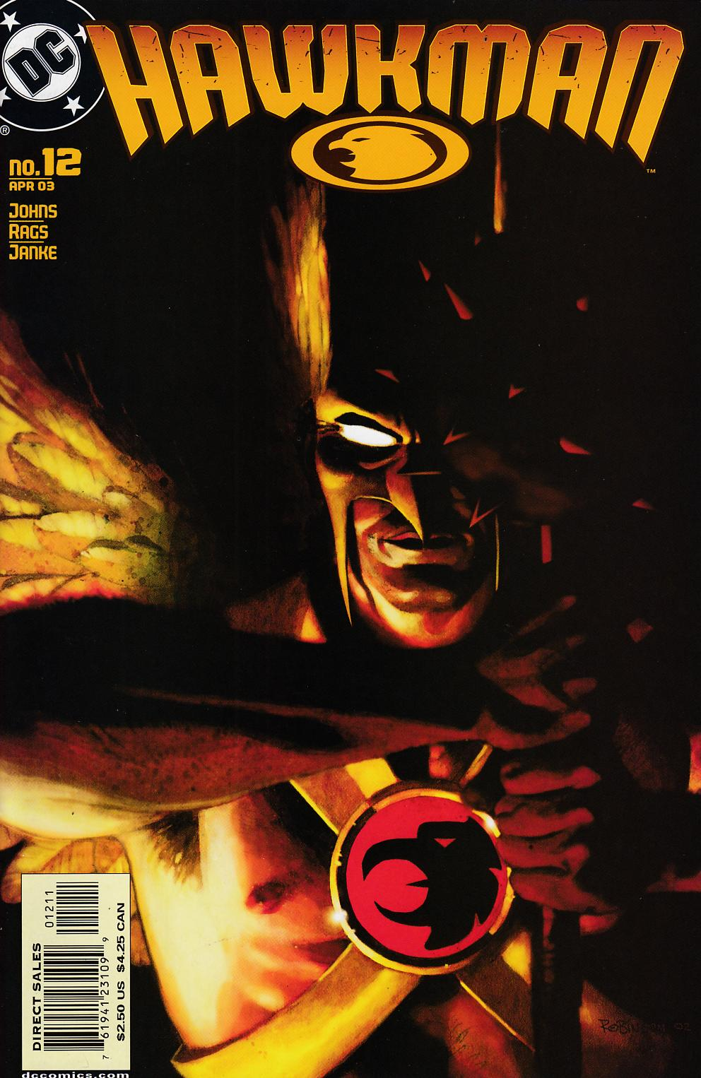 Hawkman #12 Near MInt (9.4) [DC Comic] LARGE
