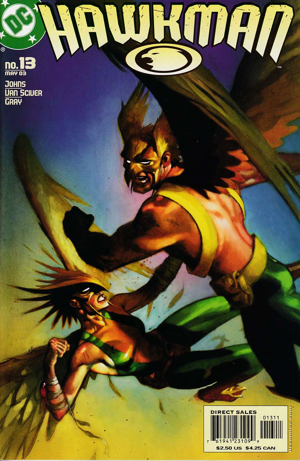 Hawkman #13 Near MInt (9.4) [DC Comic] LARGE