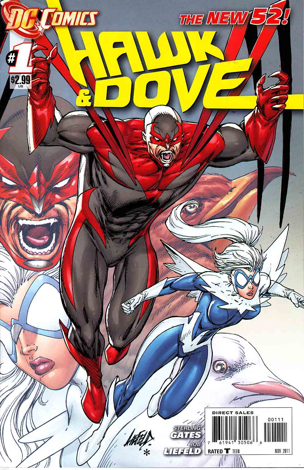 Hawk And Dove #1 [DC Comic] THUMBNAIL