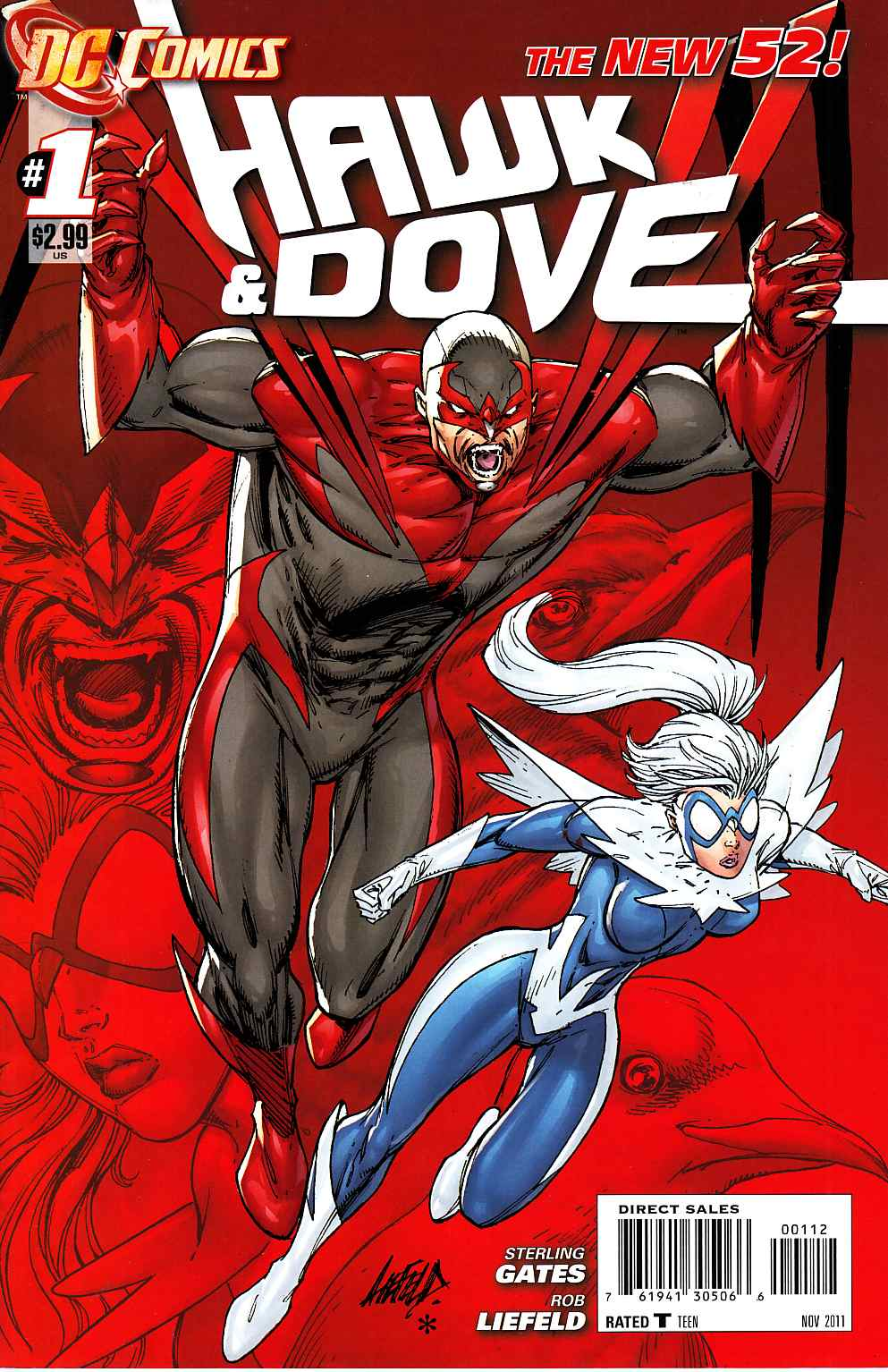 Hawk And Dove #1 Second Printing [DC Comic] THUMBNAIL