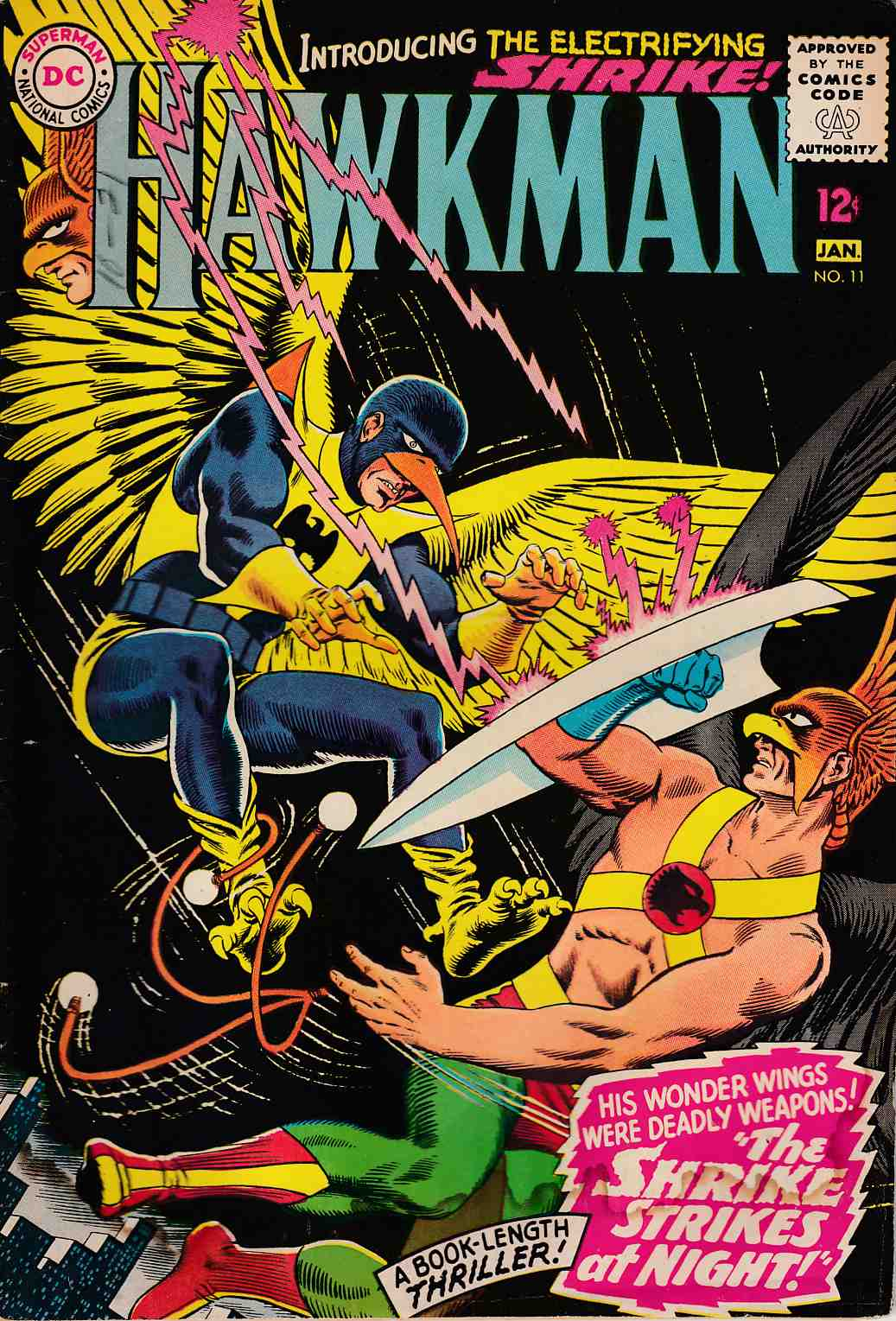 Hawkman #11 Good (2.0) [DC Comic] LARGE