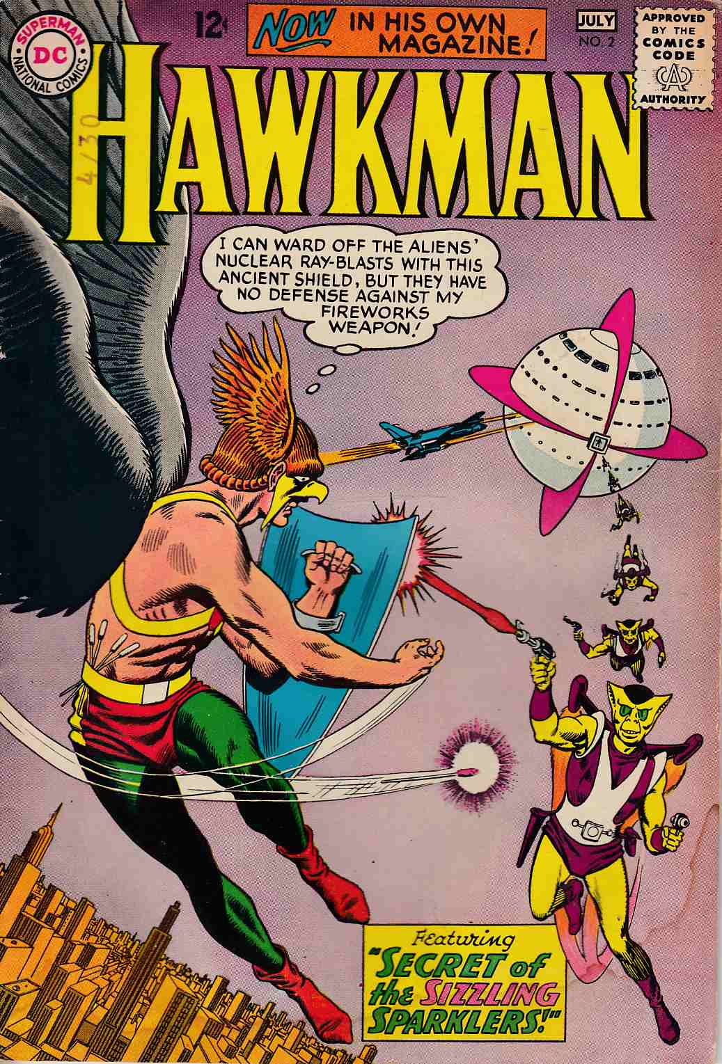 Hawkman #2 Good (2.0) [DC Comic] LARGE