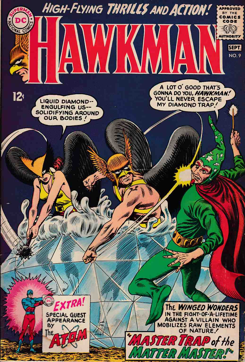 Hawkman #9 Good (2.0) [DC Comic] LARGE