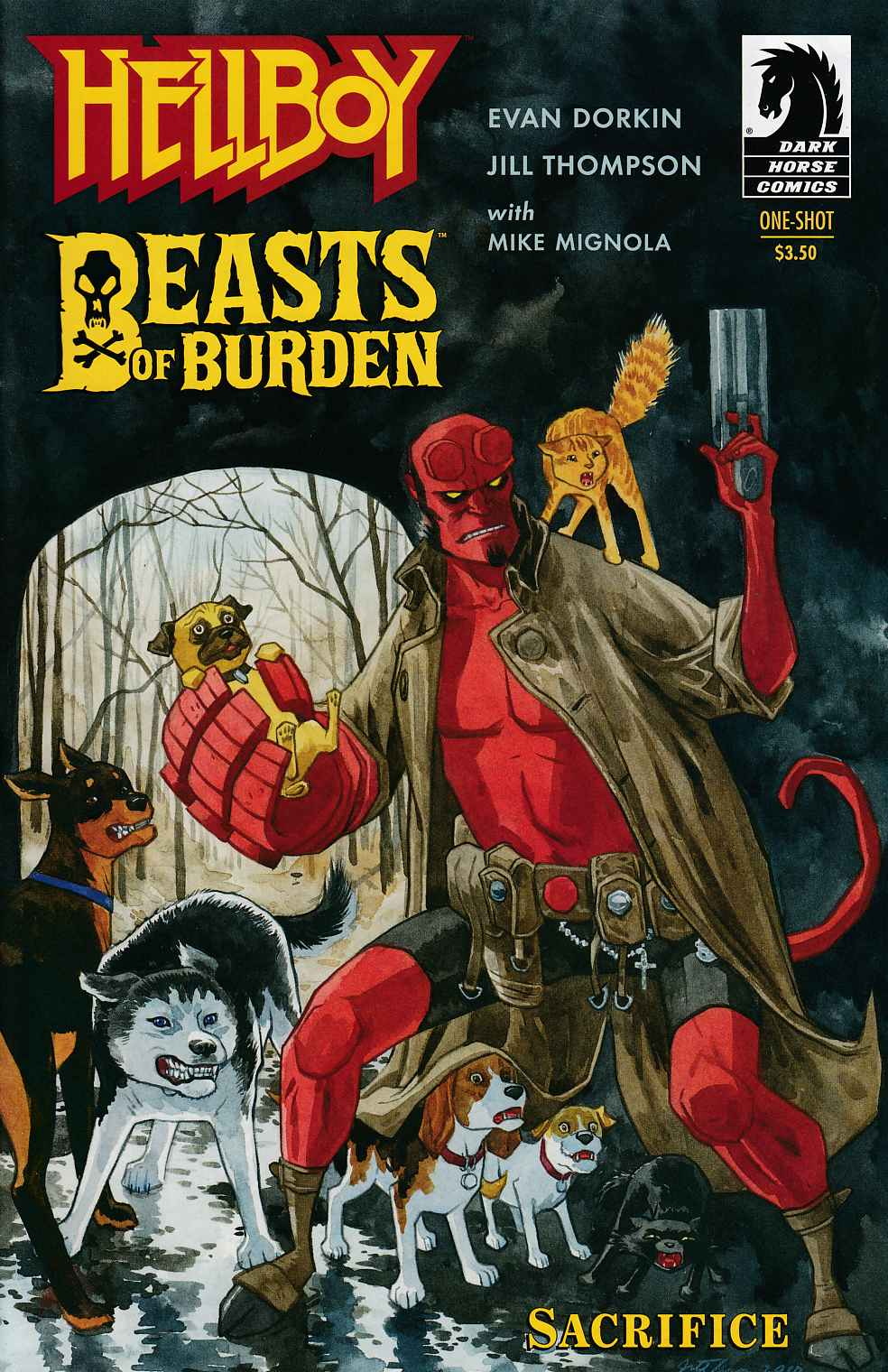 Hellboy Beasts of Burden #0 Near Mint (9.4) [Dark Horse Comic] THUMBNAIL