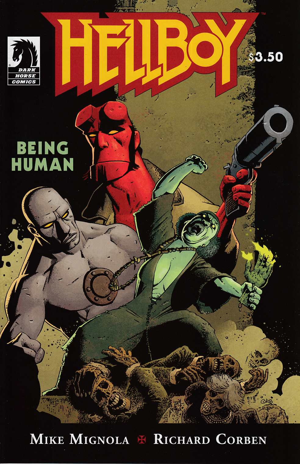 Hellboy Being Human One Shot Near Mint (9.4) [Dark Horse Comic] THUMBNAIL