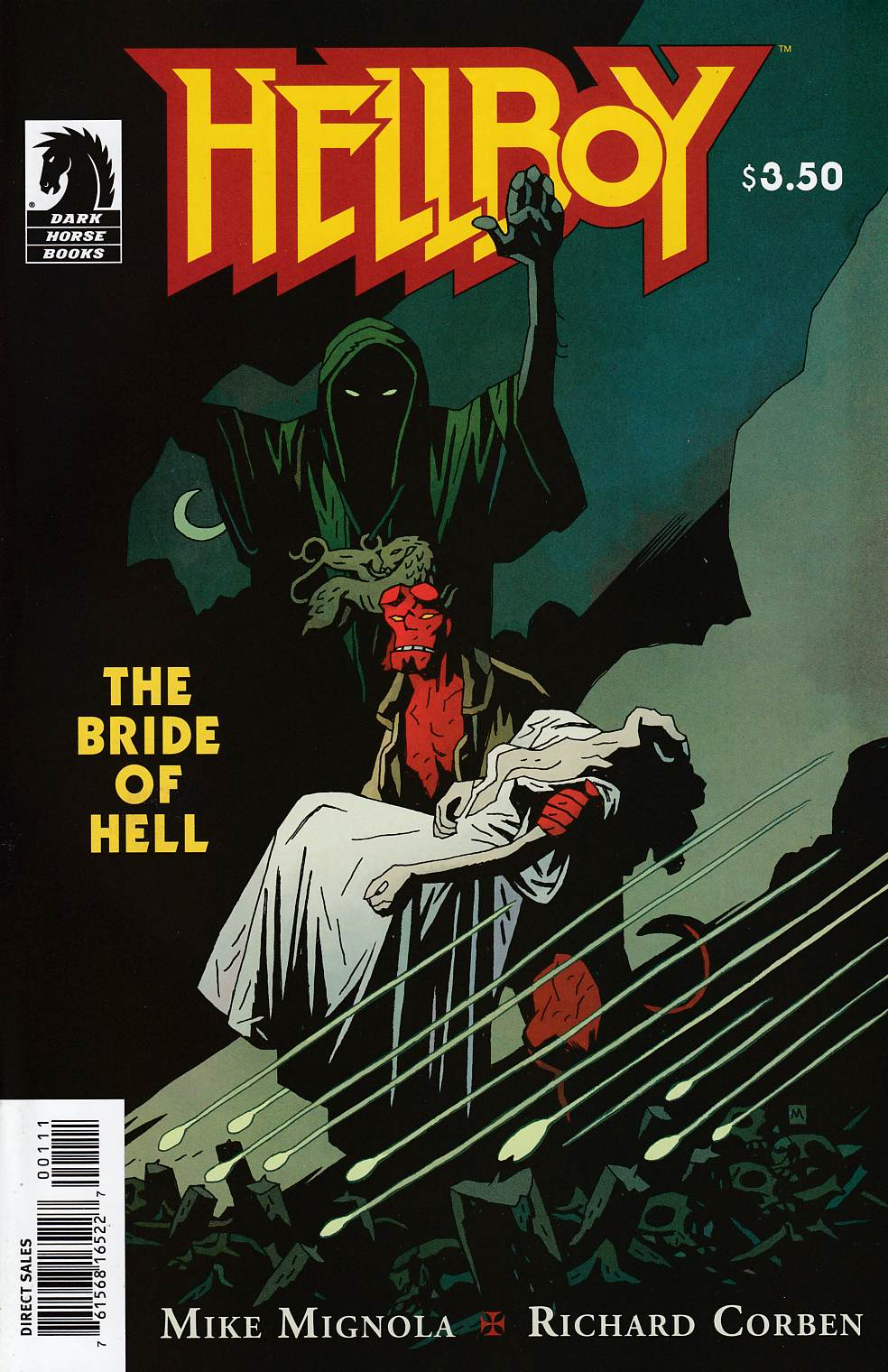 Hellboy Bride of Hell One Shot Near Mint (9.4) [Dark Horse Comic] THUMBNAIL