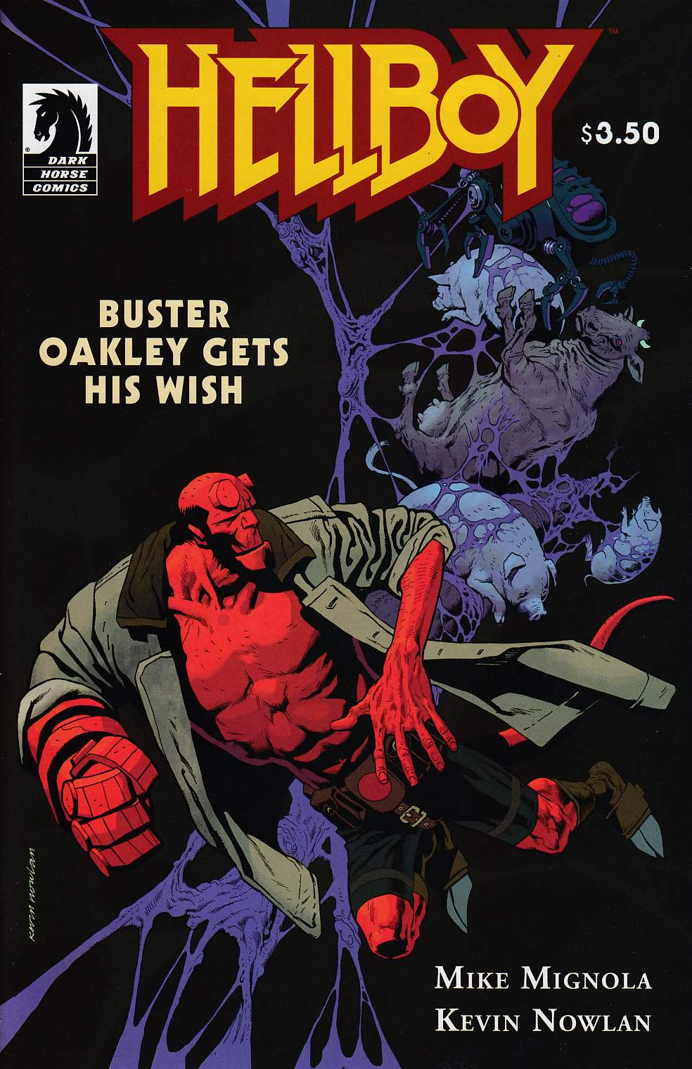 Hellboy Buster Oakley Gets His Wish Near Mint (9.4) [Dark Horse Comic] THUMBNAIL