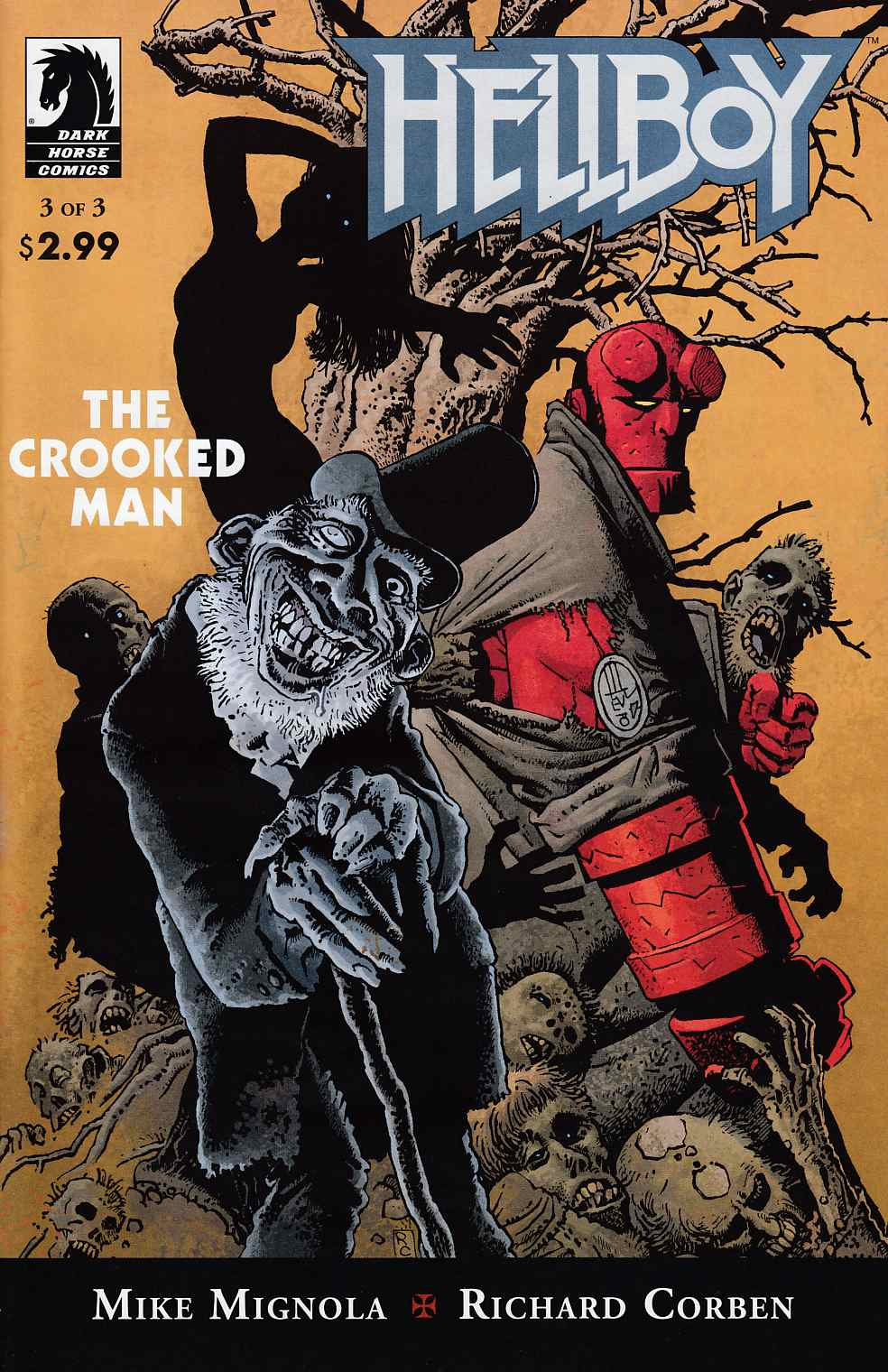 Hellboy Crooked Man #3 Near Mint (9.4) [Dark Horse Comic] THUMBNAIL