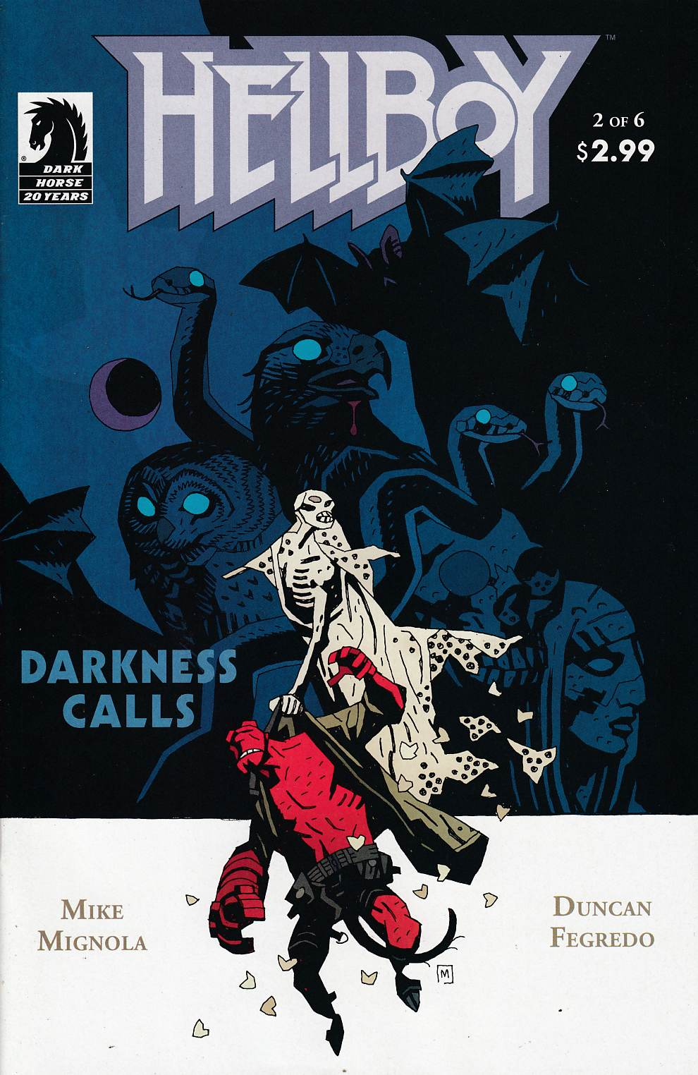 Hellboy Darkness Calls #2 Near Mint (9.4) [Dark Horse Comic] THUMBNAIL