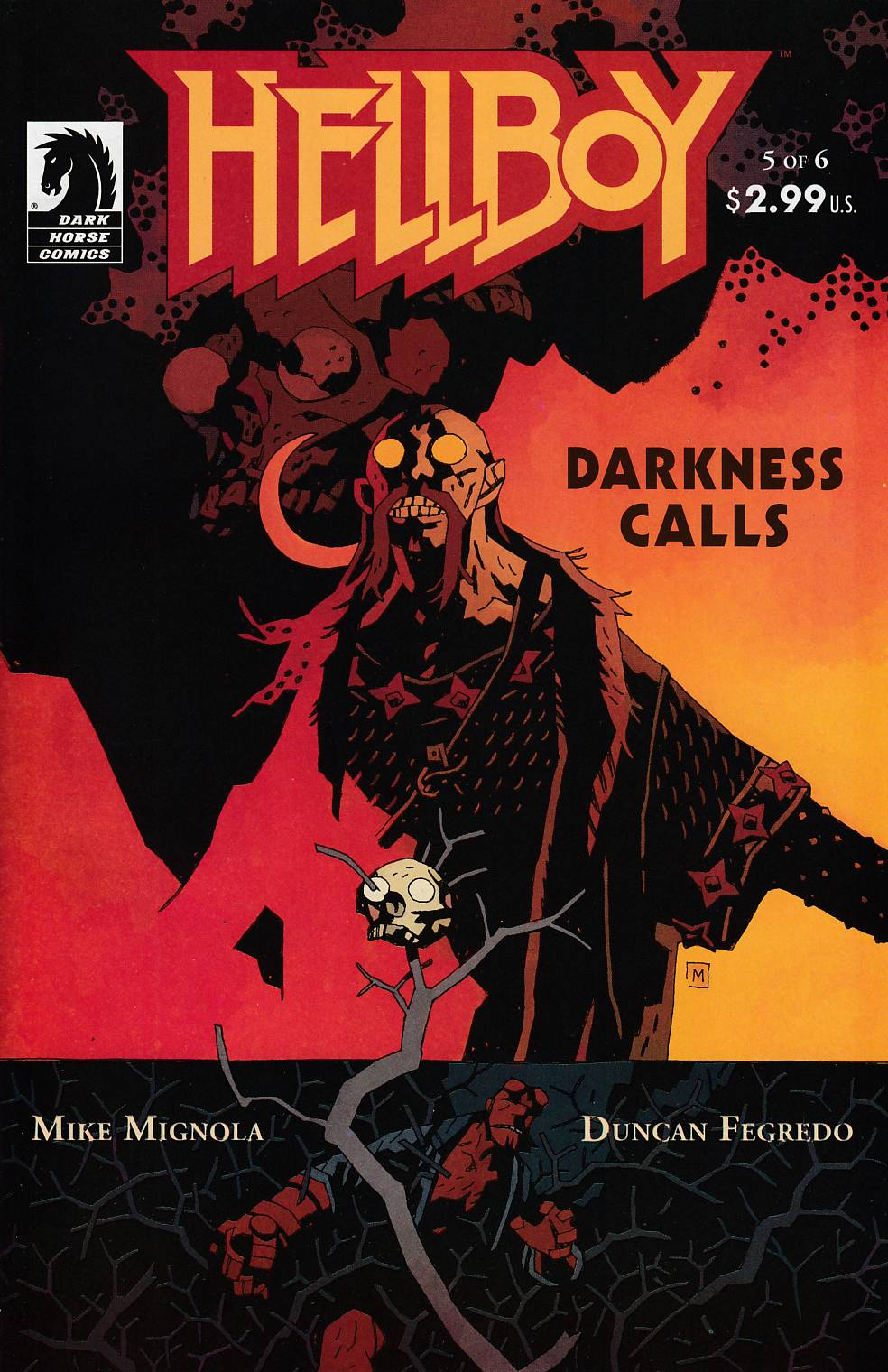 Hellboy Darkness Calls #5 Near Mint (9.4) [Dark Horse Comic] THUMBNAIL