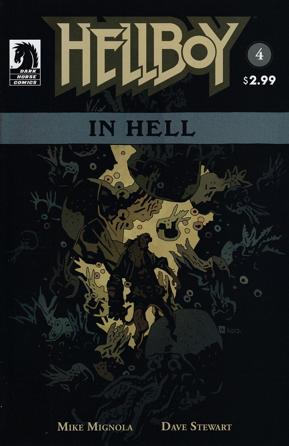 Hellboy In Hell #4 Near Mint (9.4) [Dark Horse Comic] THUMBNAIL