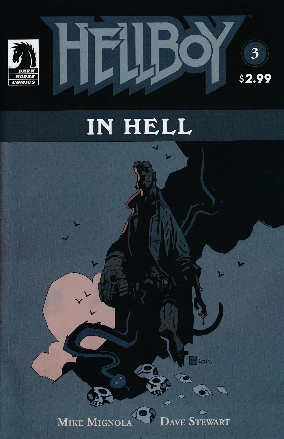 Hellboy In Hell #3 Near Mint (9.4) [Dark Horse Comic]