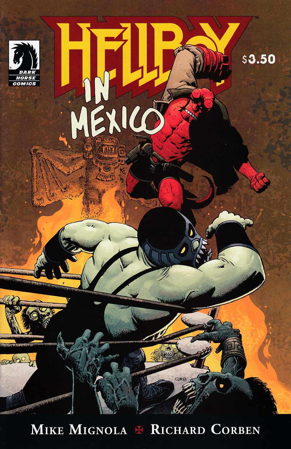 Hellboy In Mexico Near Mint (9.4) [Dark Horse Comic] THUMBNAIL