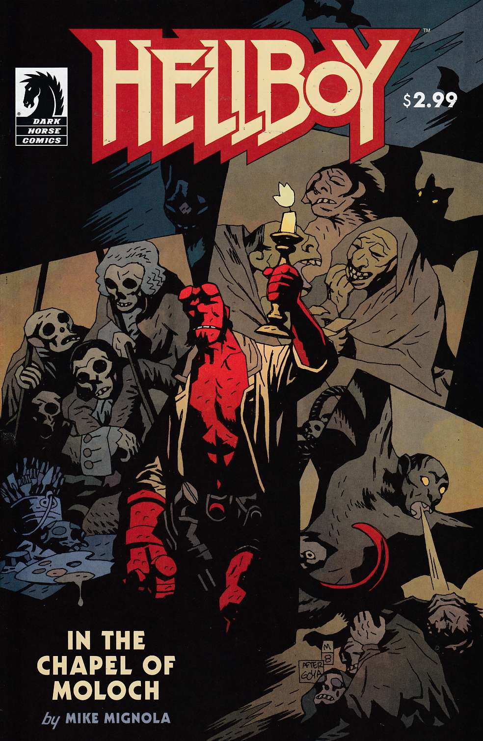 Hellboy in the Chapel of Moloch #0 Near Mint (9.4) [Dark Horse Comic] THUMBNAIL