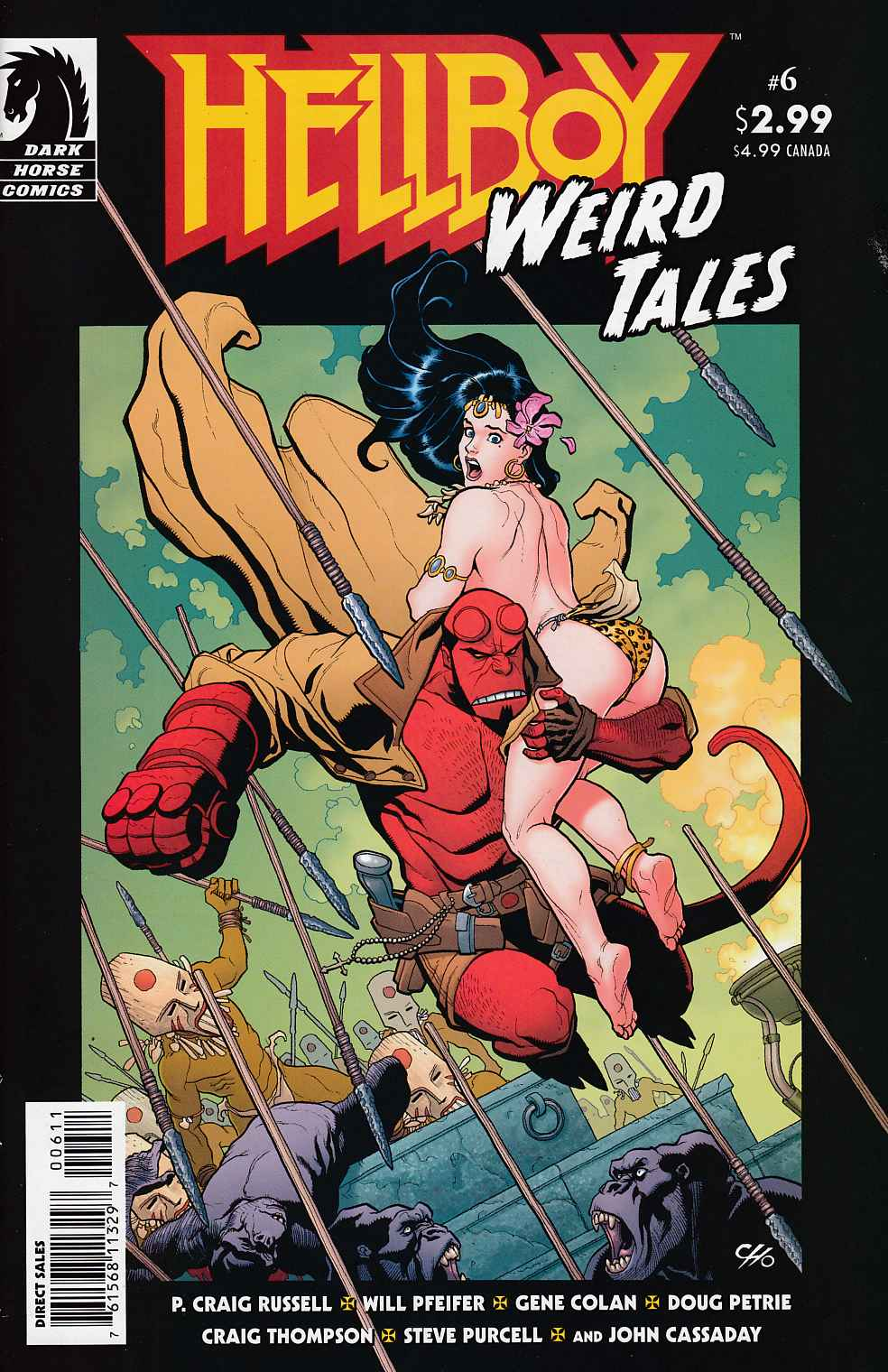 Hellboy Weird Tales #6 Near Mint (9.4) [Dark Horse Comic]_THUMBNAIL