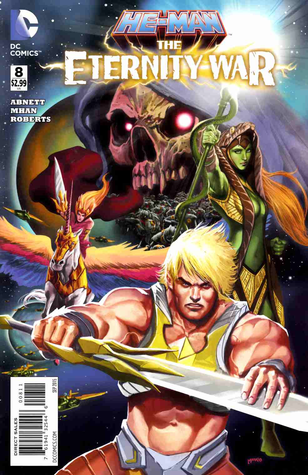 He Man The Eternity War #8 [DC Comic] THUMBNAIL
